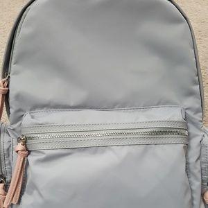Backpack Gray No Boundaries 11 Pocket Nylon